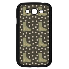 Charcoal Boots Samsung Galaxy Grand Duos I9082 Case (black)