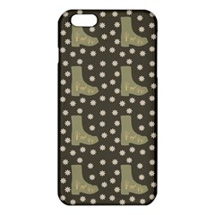 Charcoal Boots Iphone 6 Plus/6s Plus Tpu Case