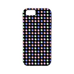 Blue Peach Green Eggs On Black Apple Iphone 5 Classic Hardshell Case (pc+silicone)