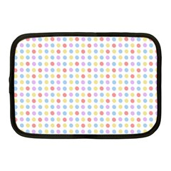 Blue Pink Yellow Eggs On White Netbook Case (medium)