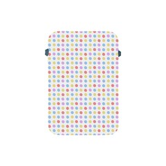 Blue Pink Yellow Eggs On White Apple Ipad Mini Protective Soft Cases