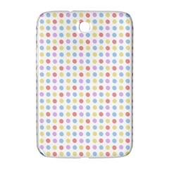 Blue Pink Yellow Eggs On White Samsung Galaxy Note 8 0 N5100 Hardshell Case