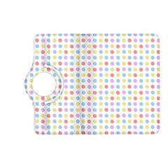 Blue Pink Yellow Eggs On White Kindle Fire Hd (2013) Flip 360 Case