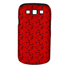 Red Music Samsung Galaxy S Iii Classic Hardshell Case (pc+silicone)