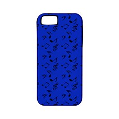 Royal Blue Music Apple Iphone 5 Classic Hardshell Case (pc+silicone)