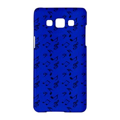 Royal Blue Music Samsung Galaxy A5 Hardshell Case