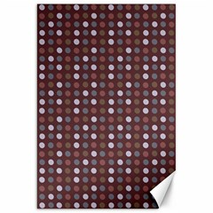 Grey Pink Lilac Brown Eggs On Brown Canvas 20  X 30