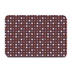 Grey Pink Lilac Brown Eggs On Brown Plate Mats