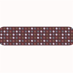 Grey Pink Lilac Brown Eggs On Brown Large Bar Mats