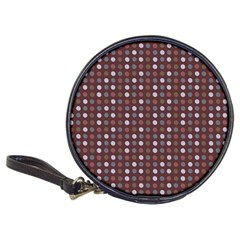 Grey Pink Lilac Brown Eggs On Brown Classic 20 Cd Wallets