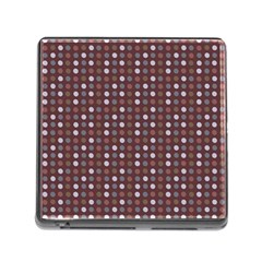 Grey Pink Lilac Brown Eggs On Brown Memory Card Reader (square)