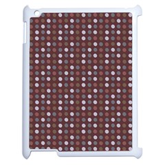 Grey Pink Lilac Brown Eggs On Brown Apple Ipad 2 Case (white)