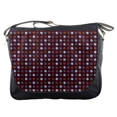 Grey Pink Lilac Brown Eggs On Brown Messenger Bags