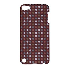 Grey Pink Lilac Brown Eggs On Brown Apple Ipod Touch 5 Hardshell Case