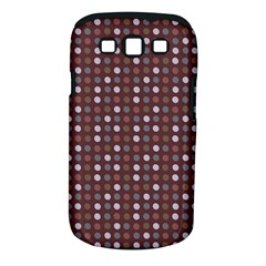 Grey Pink Lilac Brown Eggs On Brown Samsung Galaxy S Iii Classic Hardshell Case (pc+silicone)