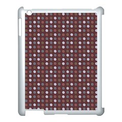 Grey Pink Lilac Brown Eggs On Brown Apple Ipad 3/4 Case (white)