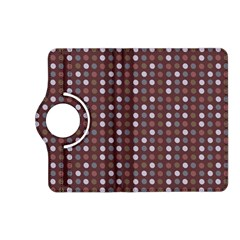 Grey Pink Lilac Brown Eggs On Brown Kindle Fire Hd (2013) Flip 360 Case