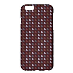 Grey Pink Lilac Brown Eggs On Brown Apple Iphone 6 Plus/6s Plus Hardshell Case