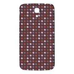 Grey Pink Lilac Brown Eggs On Brown Samsung Galaxy Mega I9200 Hardshell Back Case