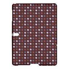 Grey Pink Lilac Brown Eggs On Brown Samsung Galaxy Tab S (10 5 ) Hardshell Case