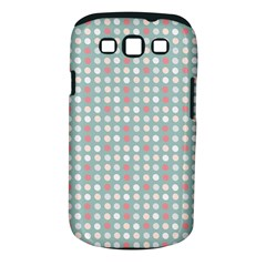 Pink Peach Grey Eggs On Teal Samsung Galaxy S Iii Classic Hardshell Case (pc+silicone)