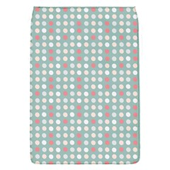 Pink Peach Grey Eggs On Teal Flap Covers (s)