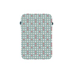 Pink Peach Grey Eggs On Teal Apple Ipad Mini Protective Soft Cases