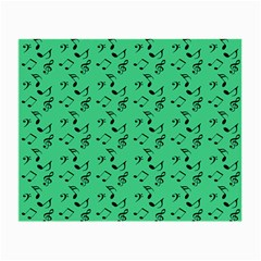 Green Music Small Glasses Cloth (2 Side)