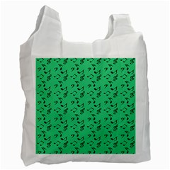 Green Music Recycle Bag (two Side)