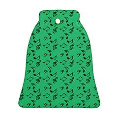 Green Music Ornament (bell)