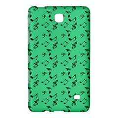 Green Music Samsung Galaxy Tab 4 (8 ) Hardshell Case