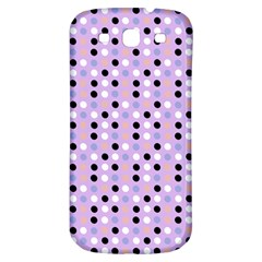 Black White Pink Blue Eggs On Violet Samsung Galaxy S3 S Iii Classic Hardshell Back Case