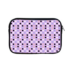 Black White Pink Blue Eggs On Violet Apple Ipad Mini Zipper Cases