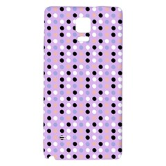 Black White Pink Blue Eggs On Violet Galaxy Note 4 Back Case