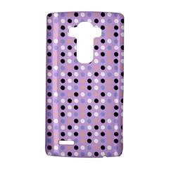 Black White Pink Blue Eggs On Violet Lg G4 Hardshell Case