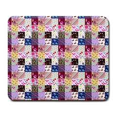 Quilt Of My Patterns Small Large Mousepads
