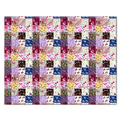 Quilt Of My Patterns Small Rectangular Jigsaw Puzzl