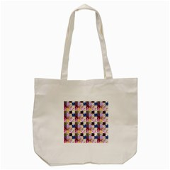 Quilt Of My Patterns Small Tote Bag (cream)