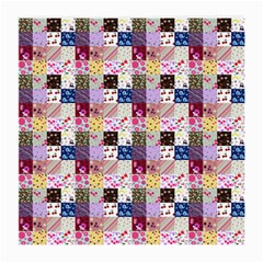 Quilt Of My Patterns Small Medium Glasses Cloth