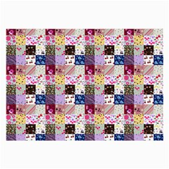 Quilt Of My Patterns Small Large Glasses Cloth