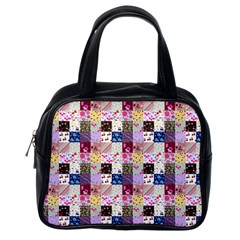Quilt Of My Patterns Small Classic Handbags (one Side)