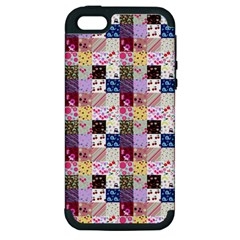 Quilt Of My Patterns Small Apple Iphone 5 Hardshell Case (pc+silicone)