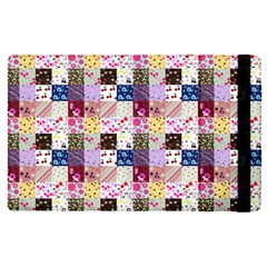 Quilt Of My Patterns Small Apple Ipad Pro 9 7   Flip Case