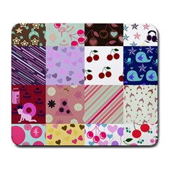 Quilt Of My Patterns Large Mousepads