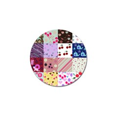 Quilt Of My Patterns Golf Ball Marker (10 Pack)