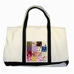 Quilt Of My Patterns Two Tone Tote Bag
