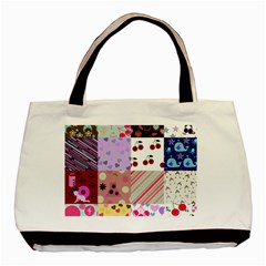 Quilt Of My Patterns Basic Tote Bag (two Sides)