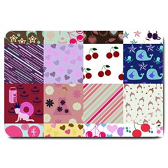 Quilt Of My Patterns Large Doormat