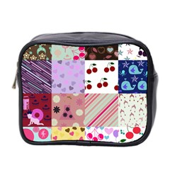 Quilt Of My Patterns Mini Toiletries Bag 2 Side