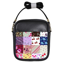 Quilt Of My Patterns Girls Sling Bags